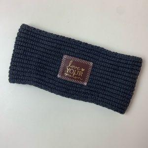 Love Your Melon Gray Knit Headband Ear Warmer